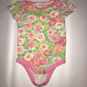 happi girls 6-9 months onesie